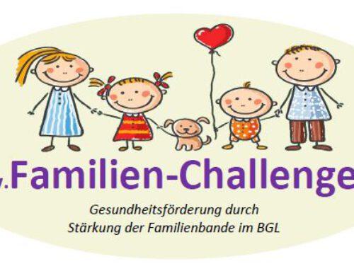 Die Familien-Challenge ist wieder da
