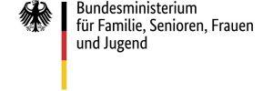 Logo des Bundesministeriums für Familie, Senioren und Jugend