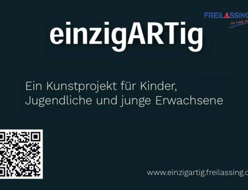 """Kunstprojekt """"einzigARTig"""": Setze ein künstlerisches und kritisches Zeichen gegen die Zerstörung unserer Erde und beteilige dich!"""